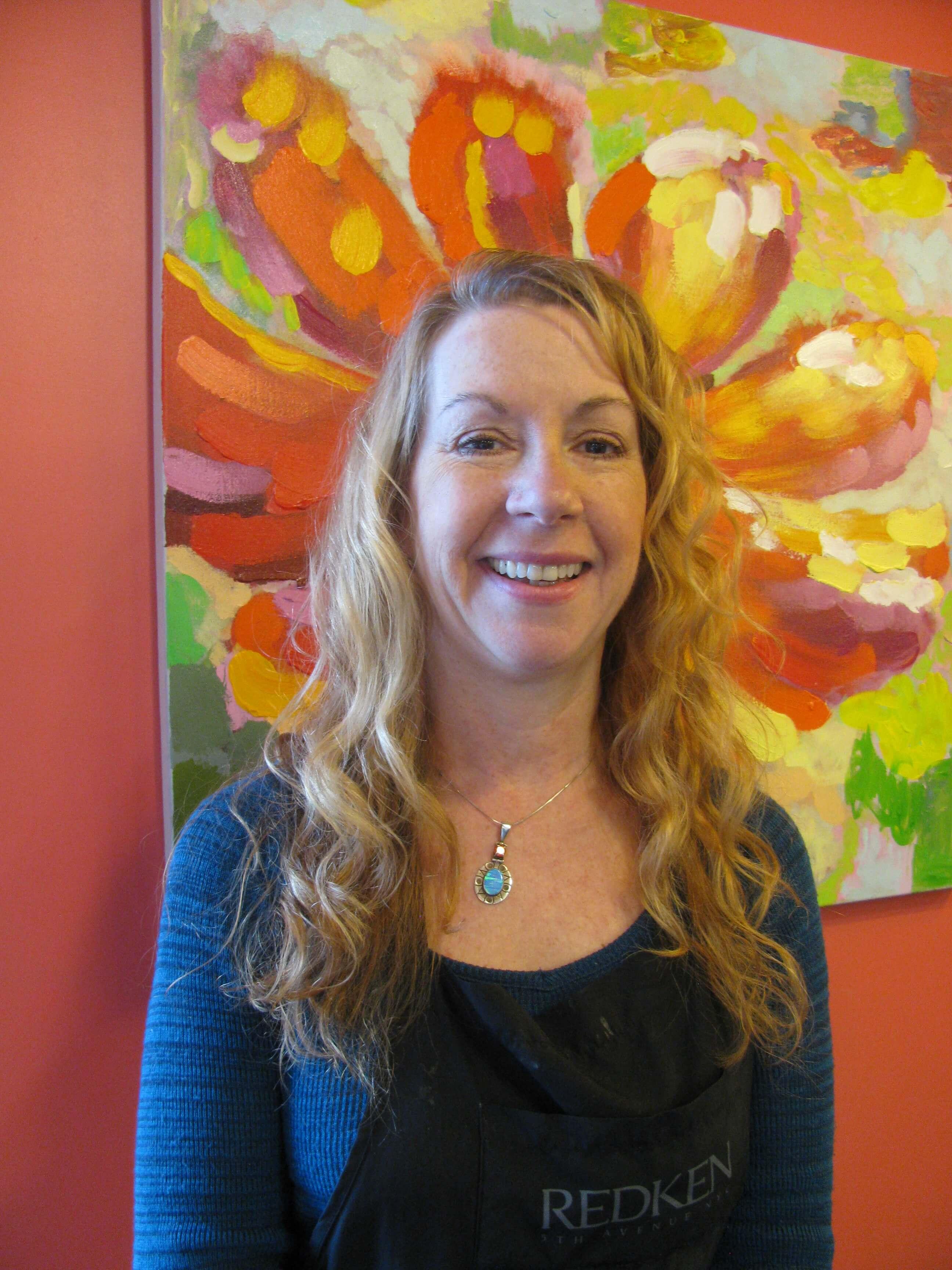 Hair stylist Penny Beil